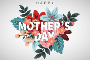 Mothers Day Floral Flowers Design Graphic Graphic Templates By naemislamcmt