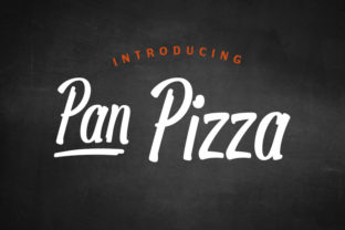 Print on Demand: Pan Pizza Script & Handwritten Font By Marc Lohner