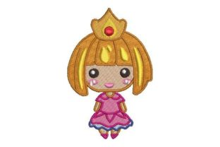 Princess Kawaii Design Fairy Tales Embroidery Design By Embroidery Designs
