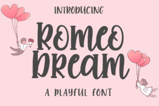 Print on Demand: Romeo Dream Display Font By LetterBeary