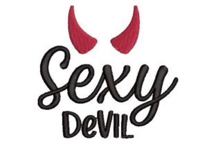 Sexy Devil Bachelorette Embroidery Design By Embroidery Designs