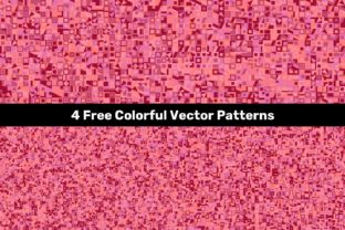 4 Free Colorful Vector Patterns Graphic Patterns By davidzydd