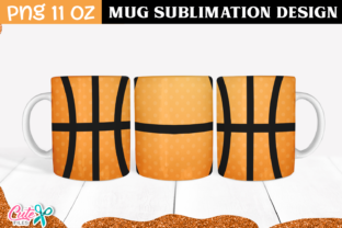 Basketball Sublimation Mug Graphic Print Templates By Cute files