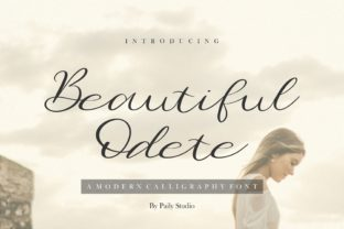 Print on Demand: Beautiful Odete Script & Handwritten Font By pailystudio