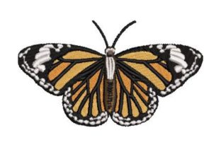 Butterfly Bugs & Insects Embroidery Design By Embroidery Designs