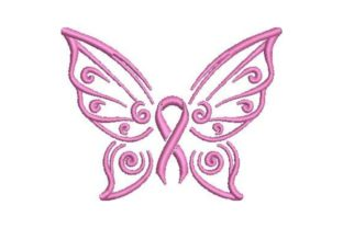 Cancer Awareness Awareness Embroidery Design By Embroidery Designs