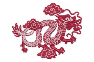 Chinese Dragon Asia Embroidery Design By Embroidery Designs