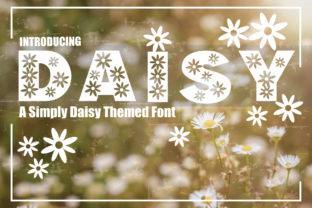 Print on Demand: Daisy Display Font By KtwoP
