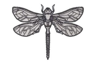 Dragonfly Bugs & Insects Embroidery Design By Embroidery Designs