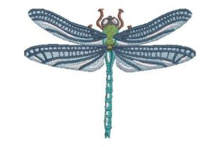 Fly Dragon Bugs & Insects Embroidery Design By Embroidery Designs