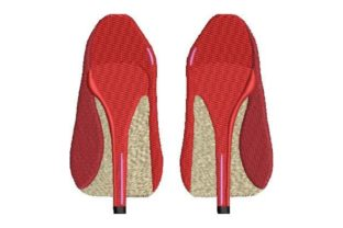 High Heels Clothing Embroidery Design By Embroidery Designs