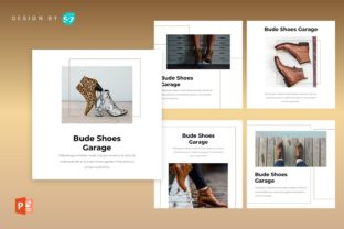 Instagram Feed Template - Bude Shoes Graphic Graphic Templates By 57creative