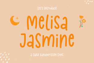 Print on Demand: Melisa Jasmine Script & Handwritten Font By Kotak Kuning Studio