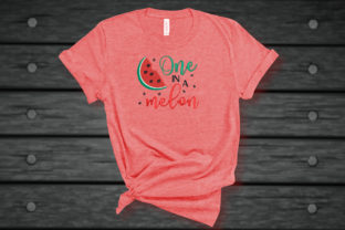 Print on Demand: One in a Melon Funny Quote Food & Dining Embroidery Design By Embroidery Shelter