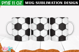 Soccer Sublimation Mug Graphic Print Templates By Cute files