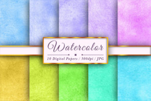 Watercolor Colorful Textures Sublimation Graphic Backgrounds By Aiartsshop