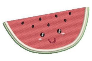 Watermelon Kawaii Design Food & Dining Embroidery Design By Embroidery Designs