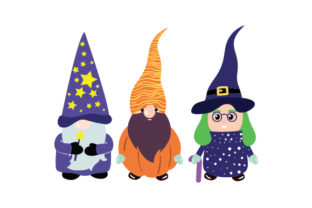 Halloween Gnomes Halloween Craft Cut File By Creative Fabrica Crafts
