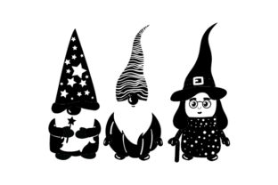 Halloween Gnomes Halloween Craft Cut File By Creative Fabrica Crafts 2