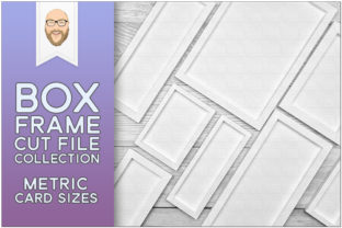 Print on Demand: Box Frames for Card Fronts - Metric Size Graphic 3D Shadow Box By gentlemancrafter