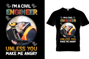 Print on Demand: Civil Engineer T Shirt Design Graphic Illustrations By Different Design