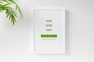 Print on Demand: Digital Mockup,Frame Mockup,Photo Frame Graphic Product Mockups By iJStudio