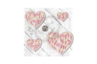 Family Heart Accessories Embroidery Design By Yours Truly Designs
