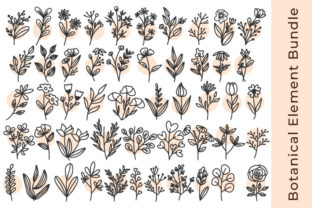 Print on Demand: Flowers Bundle Graphic Illustrations By Ayyu