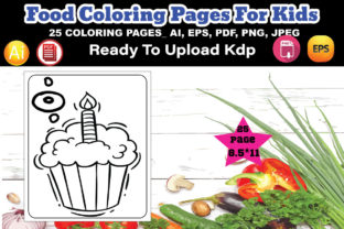 Food Coloring Page for Kids Graphic Coloring Pages & Books Kids By design_Hutt