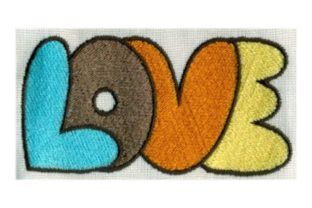 Hippie Love Summer Embroidery Design By Sew Terific Designs