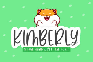 Print on Demand: Kimberly Script & Handwritten Font By jimtypestudio