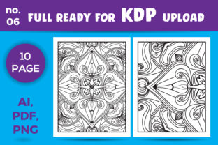 Print on Demand: Mandala Kdp Coloring Book for Adult Graphic Coloring Pages & Books Adults By NGISED