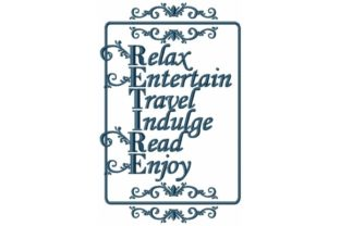 RETIRE Word Art Work & Occupation Embroidery Design By Sew Terific Designs
