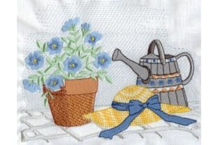Spring Garden Bouquets & Bunches Embroidery Design By Sew Terific Designs