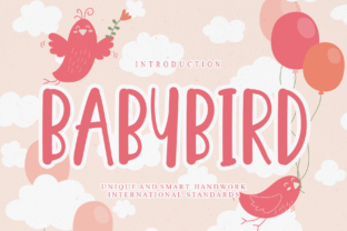 Print on Demand: Babybird Display Font By Misterletter.co