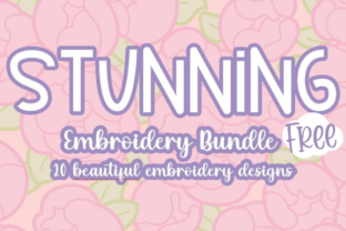 Stunning Embroidery Bundle Bundle By carasembor