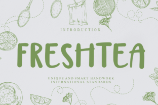 Print on Demand: Freshtea Manuscrita Fuente Por Misterletter.co