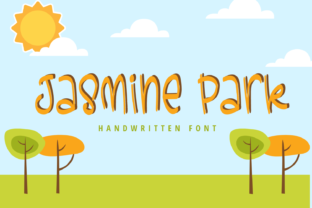 Print on Demand: Jasmine Park Script & Handwritten Font By Creative Zone