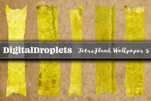 TetroFlunkWallpaper 5   180 Washi Tapes Graphic Objects By FlyingMonkies