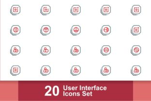 User Interface Icons Set 16 Bundle By Three Whizz