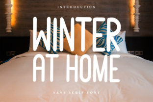 Print on Demand: Winter at Home Script & Handwritten Font By K_IN Studio