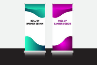 Blank Template for Banner Promotion Graphic Print Templates By Koes Design