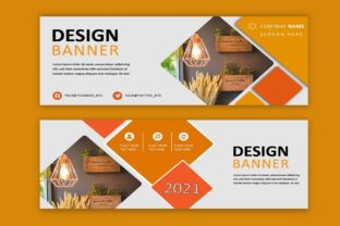 Print on Demand: Designing Social Media Banner Template Graphic Print Templates By themesfusion