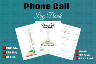 Print on Demand: Phone Call Log Book for KDP Interior Graphic KDP Interiors By ivect