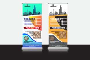 Roll Up Banner Promotion Templates Graphic Print Templates By Koes Design