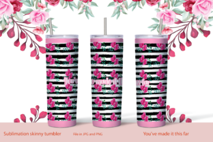 Skinny Tumbler Sublimation Phrases 2 Graphic Print Templates By StardDesign
