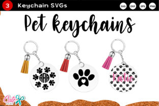 Keychain Huge Bundle Vol. 2 Svg Cut File Graphic Crafts By Cute files 3