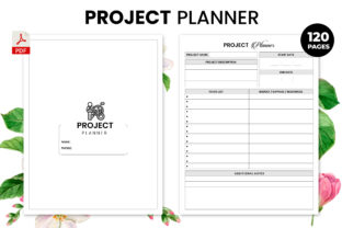 Print on Demand: Project Planner - KDP Interior Graphic KDP Interiors By Design invention