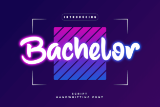 Print on Demand: Bachelor Script & Handwritten Font By Productype