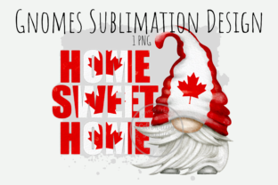 Print on Demand: Canada Home Sweet Home Sublimation Png Graphic Illustrations By Celebrately Graphics